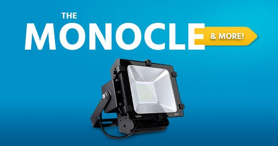 The Monocle. & More One Weekend. One Deal. Aglaia LT-F7 Flood Light 100w color temperatures 6000K SMD (black) $34.99 + Free Standard US Shipping  Ends 07/05/20 While Supplies Last