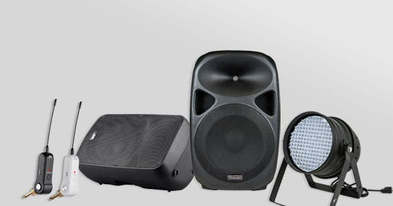 Last Chance (tag) Pro Audio Clearance  Up to 60% Off PA Speakers, Lighting, Cables, and More  Shop Now