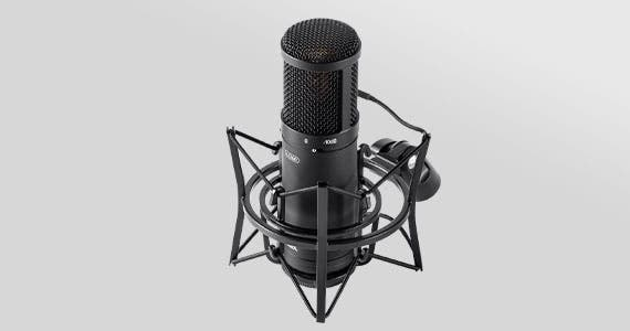 NEW Stage Right (logo) LC200 Large Multi-Pattern  Studio Condenser  Microphone Multi-Pattern Condenser Delivering True Studio Sound Shop Now >
