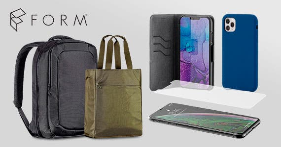 35% off FORM (logo) iPhone Cases, Screen Protectors, and Bags Made with Premium Materials Shop Now>