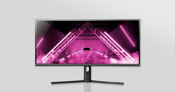 "34"" Dark Matter Monitor 