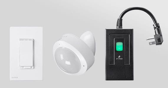 Up to 30% Off STITCH Home Automation Smart Sensors, Outlets, Switches & More!