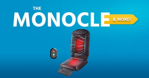 The Monocle. & More One Day. One Deal. Naipo Warmer & Cooler 2 in 1 Cushion Seat Cover | $34.99 + Free Standard US Shipping