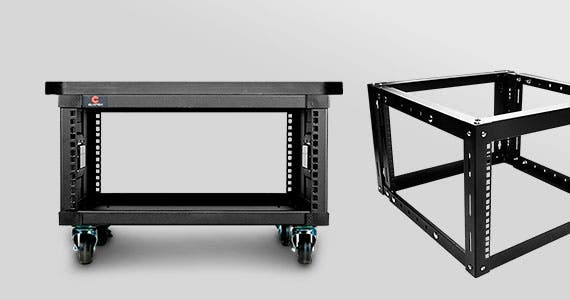 Open Frame Racks | Rack Solutions for Pro Networking, Security, AV | GSA Approved