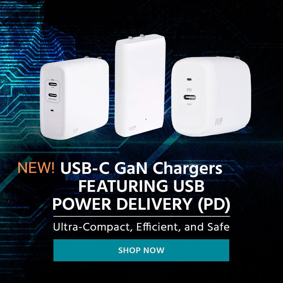 USB-C GaN Chargers