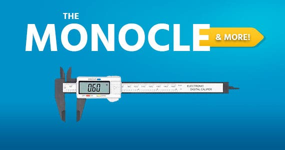 One Day. One Deal.Electronic Digital Caliper, Plastic Vernier Caliper | $12.99+Free Standard US Shipping