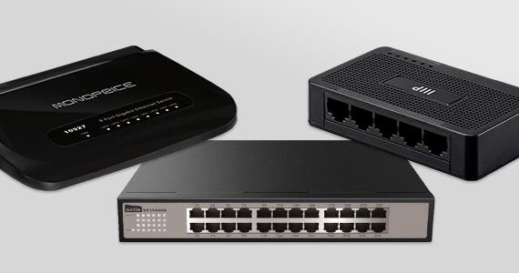 Ethernet Switches Up to 34% OFF | Expand Your Home or Office Network