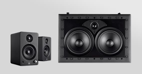 Monolith Speakers | Up to 30% OFF In-Wall | Bookshelf | Tower | & More!