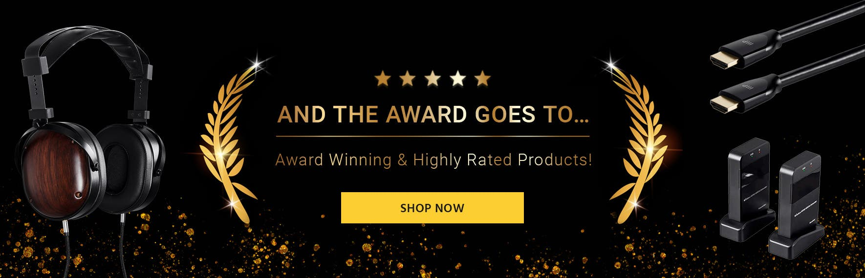 And the award goes to.... award winning products