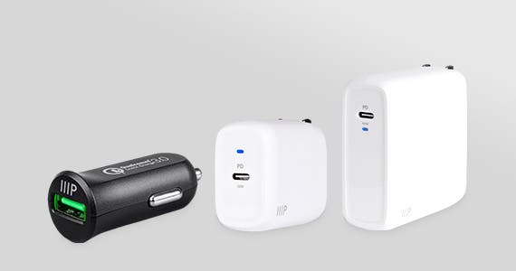 Power When You Need It - Up to 43% OFF Wall & Car Chargers