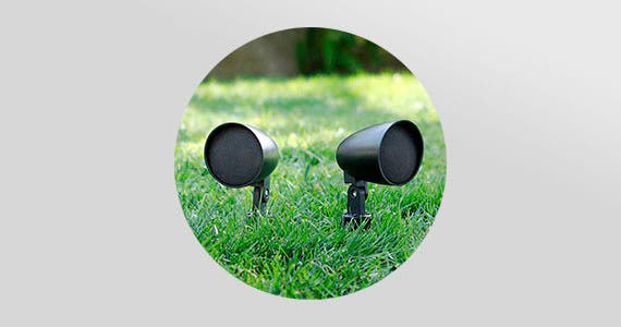 Outdoor Listening-Save up to 28% on Speakers, Controls, & Speaker Wire