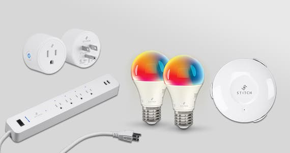 Smart Living w/ STITCH-Save Up to 40% on Smart Home Products