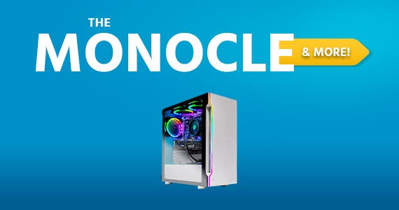 The Monocle. & More One Weekend. One Deal Skytech Archangel 3.0 - AMD Ryzen 5 3600, 8GB DDR4 3000Mhz, Nvidia GeForce GTX 1650 4GB GDDR5, 500GB SSD, Windows 10 Home 64-bit  $829.99 + Free Standard US S