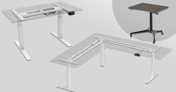 Save up to 28% Workstream Logo Sit-Stand Desks Single Motor | Dual Motor | Triple Motor | Gas-Lift Shop Now