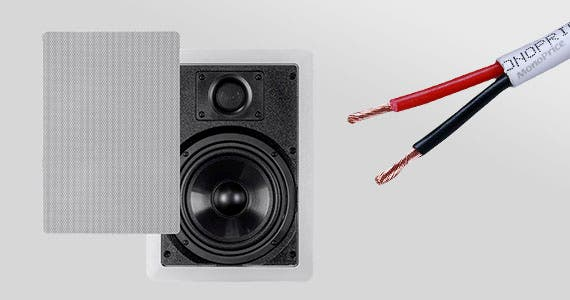 Up to 16% OFF In-Wall Speakers & Speaker Wires