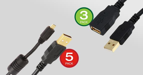"""25% OFF USB Multipacks Available in 3-Pack & 5-Pack 