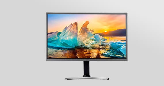 "SALE: $279.99 Open Box 32"" 4K HDR IPS Ultra Slim Desktop Monitor Amazing Color, Clarity, and FreeSync™ technology. Shop Now"