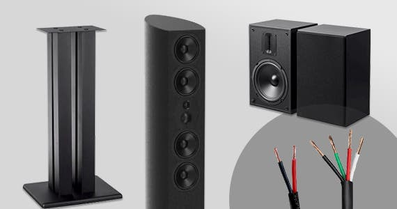 Up to 30% off Sound Sale Speakers | Stands | Speaker Wire Shop Now
