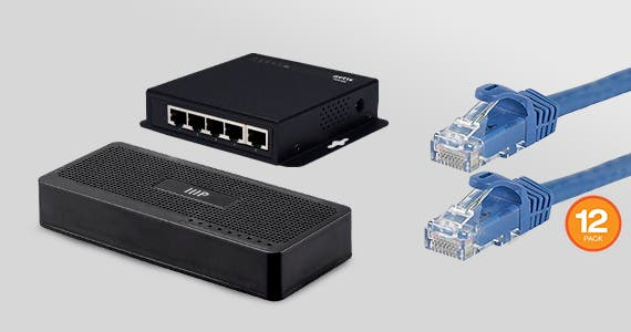 Up to 21% off Networking Switches & Ethernet Cables  Expand Your Home or Office Network Shop Now