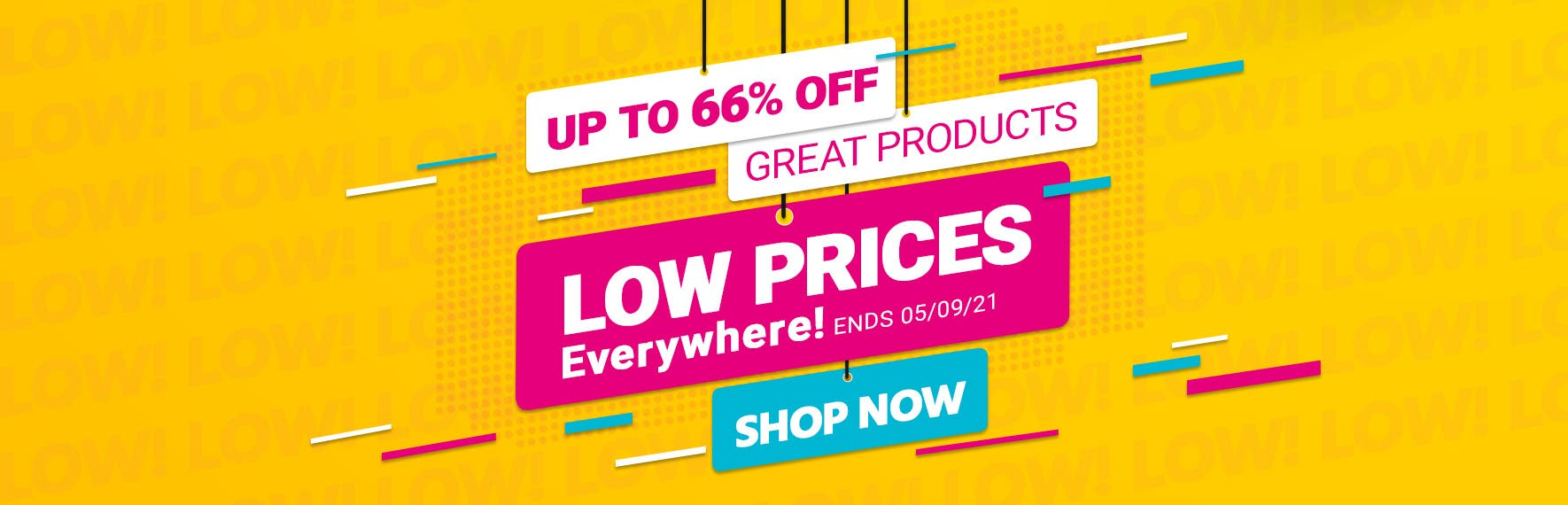 Low Prices Everywhere! Up to 66% off great products Shop Now