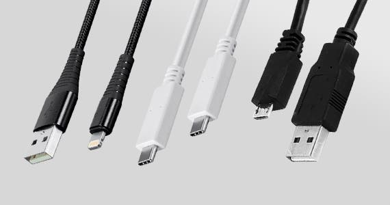 Cables! Cables! Cables! Save up to 70%  Apple Mfi Certified Lightning Cables | USB-C Cables | Micro-B Cables | & More Backed by a Lifetime Warranty Shop Now