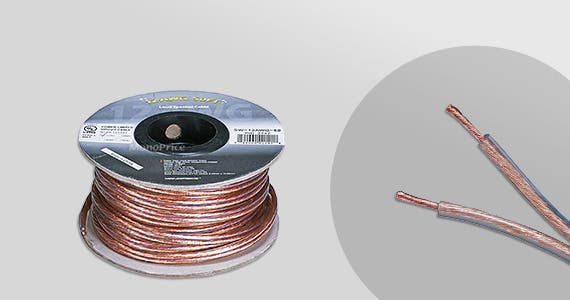 20% OFF Choice Series Speaker Wires 12AWG | 14AWG | 16AWG | 18AWG Lengths ranging from 50 ft. - 300 ft.  Shop Now >