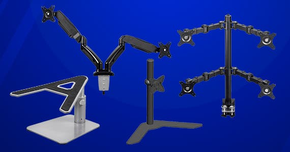 Mount up! This Weekend Only 20% off  Monitor Mounts & Stands use promo code: MMM20 Shop Now