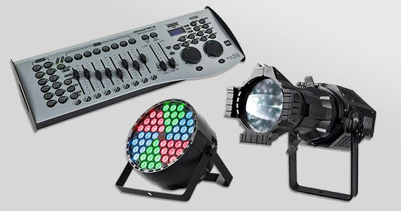Stage Right (logo) Take an extra 20% off Stage Lighting  use promo code: SRL20 Shop Now