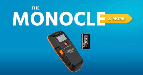 The Monocle. & More One Day. One Deal. Tacklife Stud Finder, DMS04 3 in 1 Edge Finding Electronic Wall Scanner, Wood Stud/Live AC Wire Scanner with Sound Warning Indicator $14.99 + Free Shipping