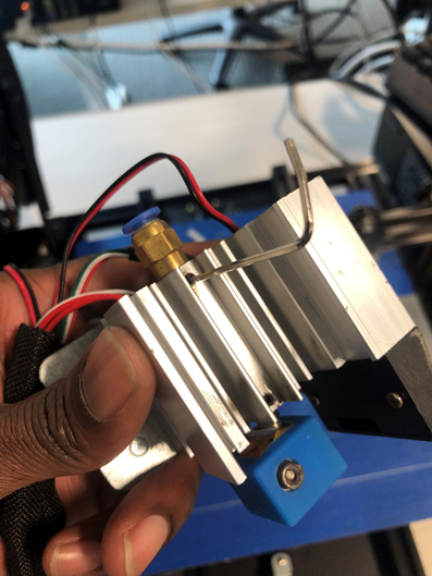 Dissembling the MP10 and MP10 Mini Extruder Assembly