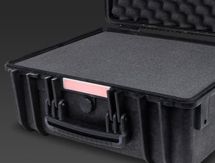 Weatherproof Cases - IP67 level dust and water protection