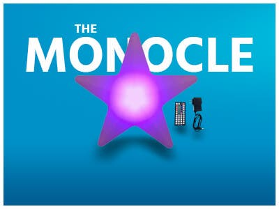 The monocle, One Day. One Deal, Wireless LED Multi-Color Star Night light | $17.99 + Free Standard US Shipping, ends 12/10/18, shop now