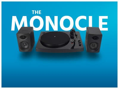 One Day. One Deal.2-Speed Bluetooth Turntable System with Stereo Speakers | $49.99 + Free Standard US Shipping, shop now