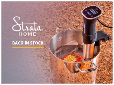 Back in stotck, 800W Sous Vide, cook food to profection, shop now