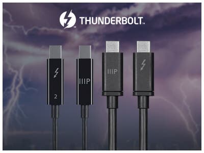 Thunderbolt cable sale, up to 35% off the most versatile port.