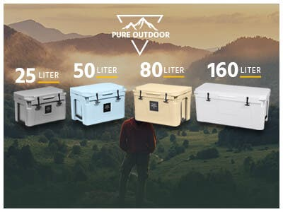 Emperor Coolers! Pure Outdoor Emperor Coolers! Multiple Sizes & Colors! Built For Any Adventure!