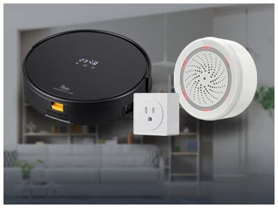 STITCH Smart Home Sale, Up To 20%  Smart Sensors, Plugs, Vacuums & More! Shop Now