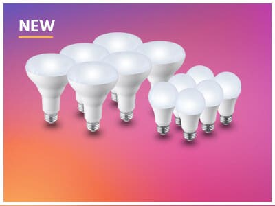 New, High Quality LED Bulbs, Dimmable, with 90+ CRI for more vivid and accurate colors! Shop Now