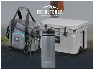 National Camping Month! Take an extra 20% Off Pure Outdoor with promo code: CAMP20. Ends 06/30/19