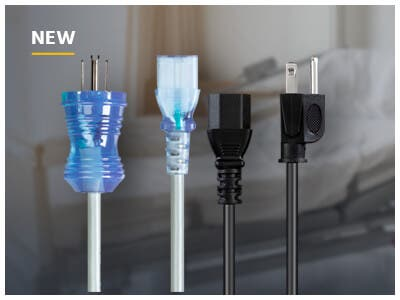 Hosp. Grade Power Cords, Safe & Reliable In The Most Demanding Environments, Learn More