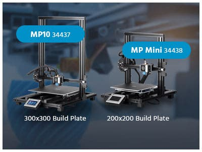 MP10 3D Printer Series  Enthusiast inspired performance at an affordable price! Shop Now