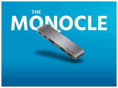 The Monocle. One Day One Deal, USB-C 5 in 1 Multi-Port Hub | $34.99 + Free Standard US Shipping, shop now
