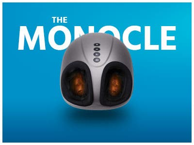 The Monocle. One Weekend. One Deal. One Incredibly Low Price. Shiatsu Foot Massager with Electric Heat Kneading (Refurbished) | $39.99 + Free Shipping, Ends 05/19/19 While Supplies Last