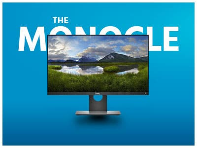 "The Monocle. One Day. One Deal. One Incredibly Low Price. Dell P2418D 23.8"" 16:9 IPS Monitor 2560 x 1440 $239.99 + Free Standard US Shipping, Ends 05/21/19 While Supplies Last"