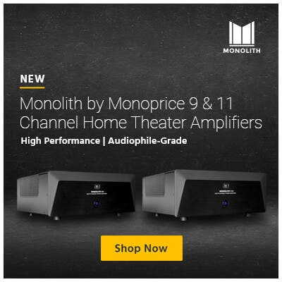 NEW Monolith by Monoprice 9 & 11 Channel Home Theater Amplifiers High Performance | Audiophile-Grade  Shop Now