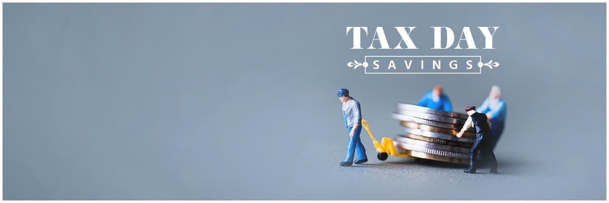 Tax Day Savings! Up To 50% Off No Filing Required Ends 04/21/19, shop now