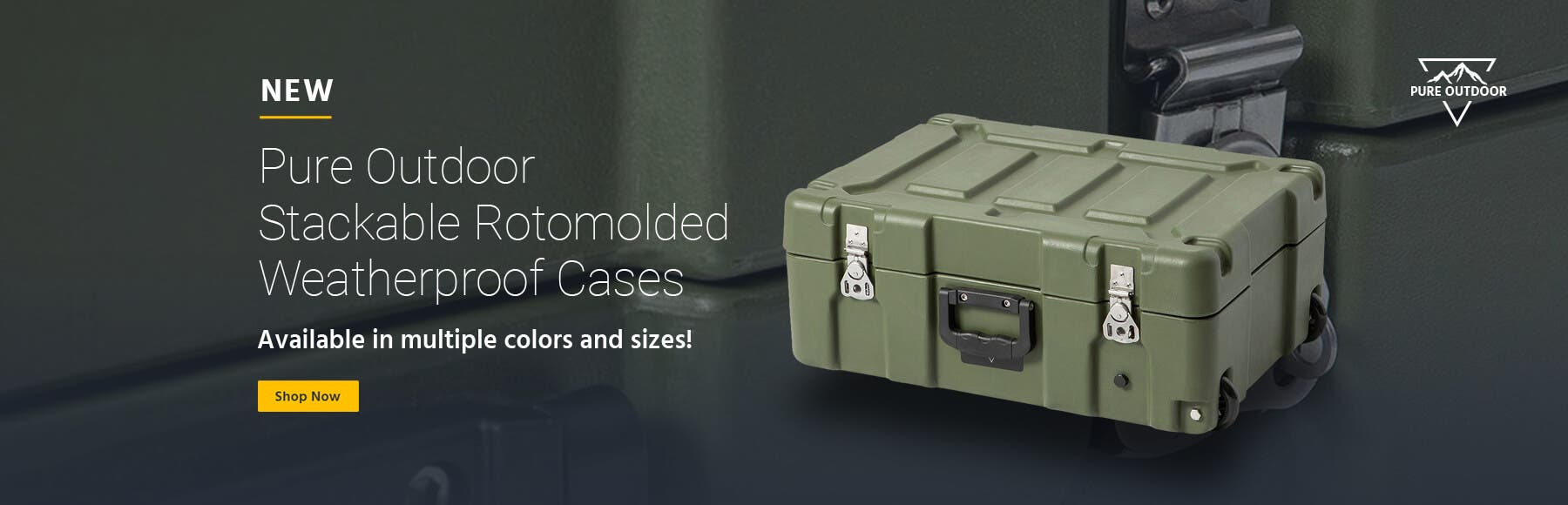 Rotomolded Cases