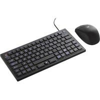 SMK-Link VersaPoint DuraKey Industrial and Medical Grade Keyboard and Mouse - USB Cable Keyboard - 89 Key - English (US) - USB 2.0 Wireless RF Mouse - Optical - 120 dpi - 5 Button - Scroll Panel - Joy