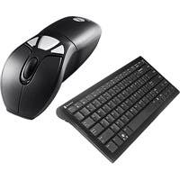 SMK-Link Gyration Air Mouse GO Plus with Full Size Keyboard - Keyboard - Wireless - 104 Keys - USB - Mouse - Wireless - Optical - USB