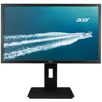 "Acer B246WL 24"" LED LCD Monitor - 16:10 - 6 ms - 1920 x 1200 - 16.7 Million Colors - 300 Nit - 100,000,000:1 - WUXGA - Speakers - DVI - VGA - DisplayPort - USB - Dark Gray - EPEAT Gold, TCO Certified"